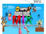 New Super Mario bros.:Mix:Quest for the Crystal pieces