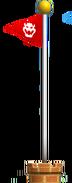 Red Flagpole NSMBDIY