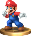 Smash Mario Trophy SSBRiot