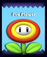 Super Mario & the Ludu Tree - Powerup Fire Flower