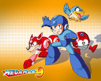 Wallpaper MegaMan9 Group res1280