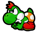 Yoshi Kid Cards of Conquest