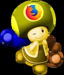 Mozilla Firefox Toadette