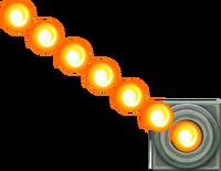 SMM3DS Art - Fire Bar