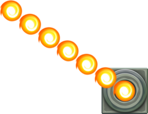 SMM3DS Art - Fire Bar