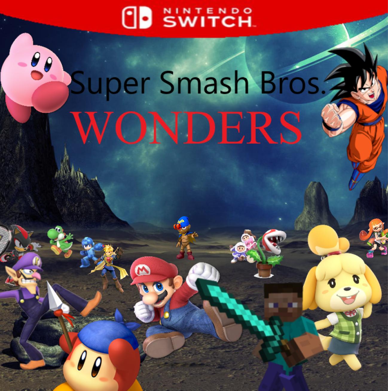 Super Smash Bros  Wonders | Fantendo - Nintendo Fanon Wiki