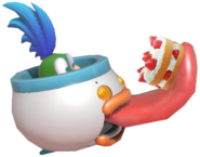 0.6.Larry Koopa's Clown Car eating a Cake