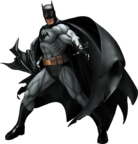 Batman statue render