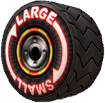 Big-Small Tire