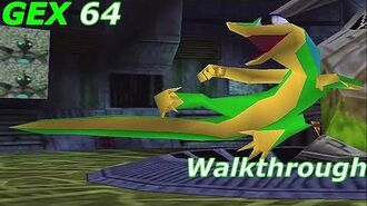 Gex 64 Walkthrough HD (No Deaths)