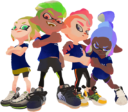 Inkling Octoling Team
