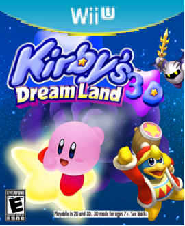 Image - Kirby Dream Land 3D Wii U cover.png | Fantendo - Nintendo ...