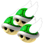 Flying Triple Green Shell