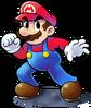 Mario luigi rpg style mario ssb4 pose by master rainbow-dbblkdo