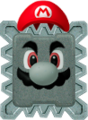 Thwomp Mario NSMBVR