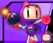 Bomberman5Purple
