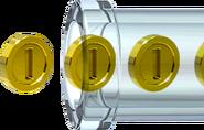 Clear Pipe Coins Artwork - Super Mario 3D World