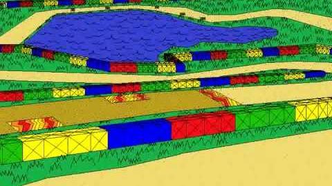 Super Mario Kart - Donut Plains Remix