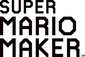Super Mario Maker logo