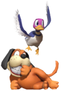 0.4.Duck Hunt Dog Laughing