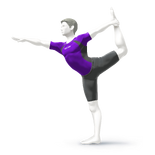 ACL - SSBSwitch recolour - Wii Fit Trainer 8