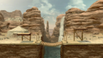 Gerudo Valley SSBU Stage