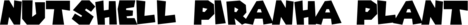 Nushell Piranha Plant Spikers Logo