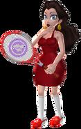 Pauline mario tennis concept