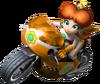 Princess Daisy Artwork Mario Kart Wii