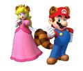 Racoon Mario x peach