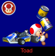 Toad in Mario Kart Ultime
