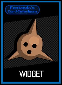 FCC Widget Card