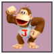 JSSB character preview icon - Donkey Kong Jr.