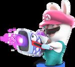 SB2 Rabbid Mario recolor 8