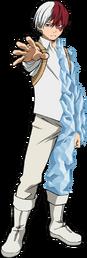 Shouto Todoroki Full Body First Hero Costume