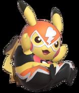 1.9.Pikachu Libre sitting