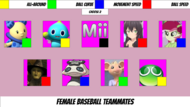 Baseball Female BvG