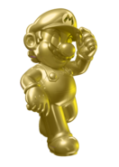 Gold Metal Mario