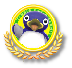 Penguin Tennis Icon
