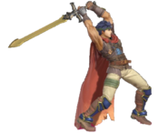 1.5.Radiant Dawn Ike preparing to strike