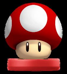 Amiibo Super Mushroom