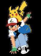 Ash and Pikachu OS