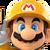 Builder Mario Spirit Icon SSBE