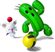 Cactuar Moogle - Mario Sports Mix