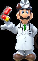Dr. Luigi Dr. Mario Miracle Cure art DSSB