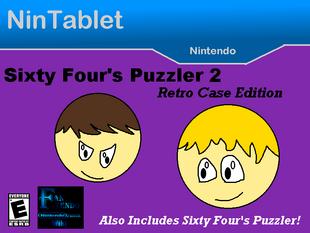 Sixty Four's Puzzler 2 Retro Case