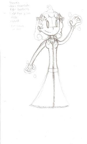 Velvet Sketch by WereWaffle