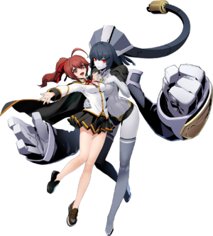 Celica Ayatsuki Mercury (BlazBlue Cross Tag Battle, Character Select Artwork)
