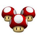 Triple Mushroom - Mario Kart 8 Wii U