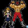 Wrestler and Reporter